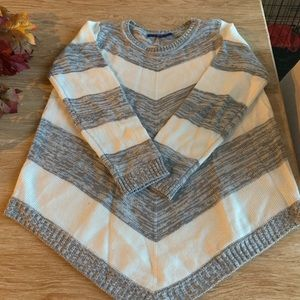 Handkerchief hem sweater